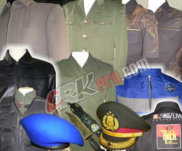Design Baju Pakaian seragam PDH PDL Dinas Harian Pakaian Dinas ...