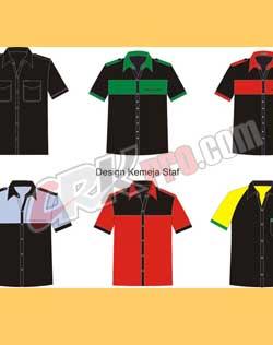 Desain kemeja seragam Desain seragam